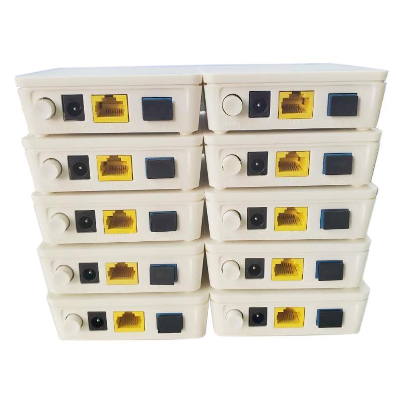 광섬유 장비 오리지널 10 개 Onu GPON Epon Hua Wei Ont FTTH Fiberhome 모뎀 HG8310M HG8010H 1GE 영어 버전