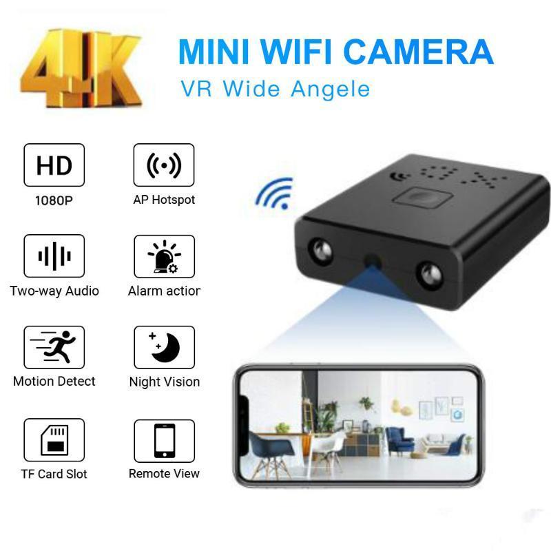 미니 카메라 와이파이 카메라 풀 HD 4K 캠코더 Nachtzicht 마이크로 BewegingsDetectie DV 비디오 음성 레코더 IP 모션