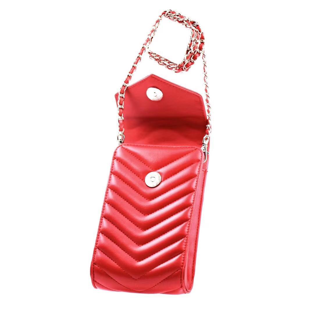 حقائب الهاتف الأزياء لفون 12 برو ماكس جودة عالية الجلود الحالات الهاتف حقيبة يد حقيبة صغيرة محفظة بطاقة جيب مناسب لمعظم الهواتف