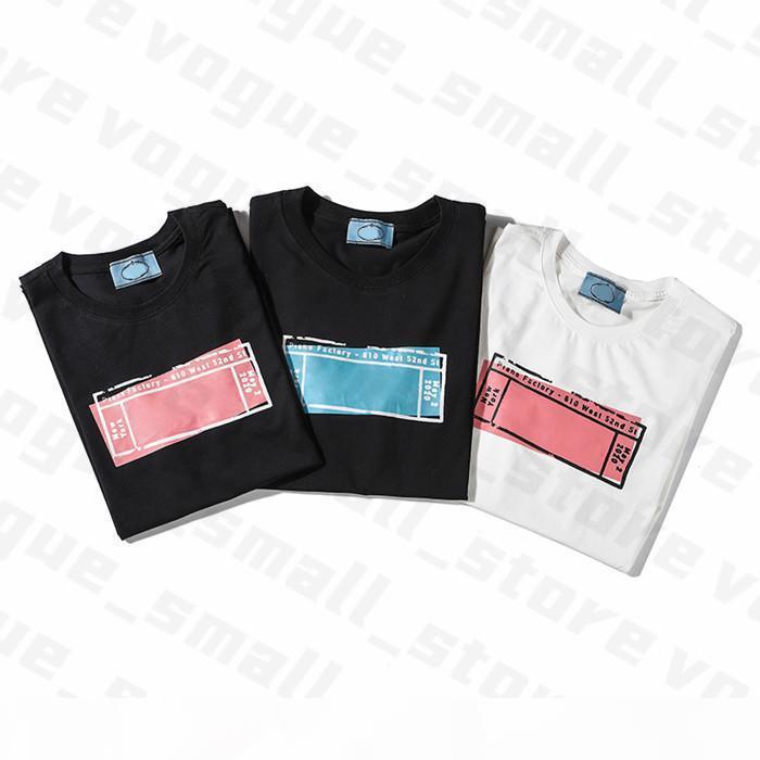 2020 Womens Designer T-shirts Brief Frame Gedruckt Mode Frauen T-Shirt Top Qualität Baumwolle Casual Tees Kurzarm Luxe T-Shirts