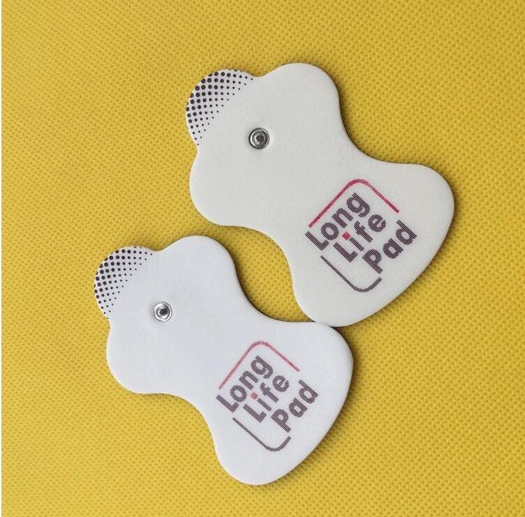 10pcs Omron sostituzione elettroterapia Long Life Pad Elettrodi autoadesivi decine pad con il sacchetto sigillato