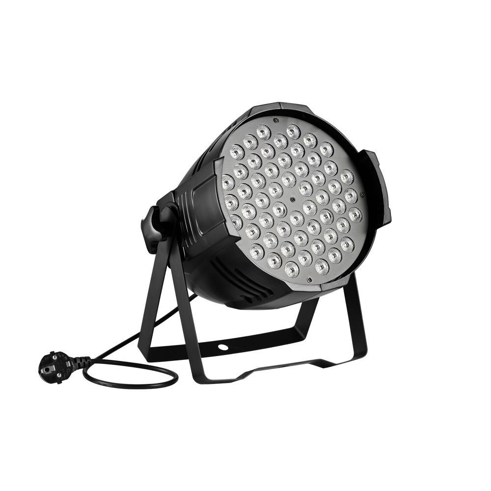 80W RVB LED Light Par Sound Disco Indoor DJ Party Club Spectacle d'éclairage