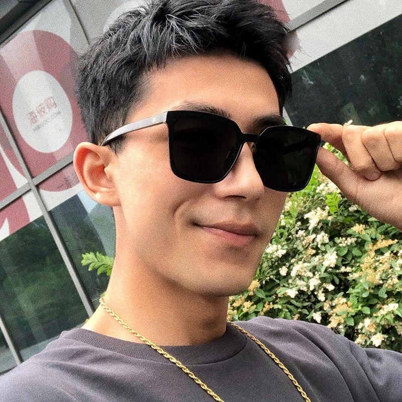 BLKorean 2020 guida alla moda dei nuovi uomini di versione con il contenitore classico occhiali da sole anti-UV per le donne M L