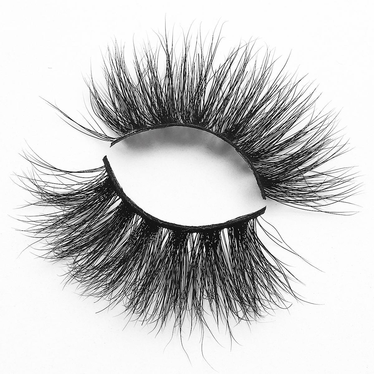 [Mink falsche Wimpern-MXL29] 100% Luxus 5d Mink Wimpern dauerhafte Wimpern lange überlagerte Wispy Fluffy Wimpernhändler Angekippte Kästchen
