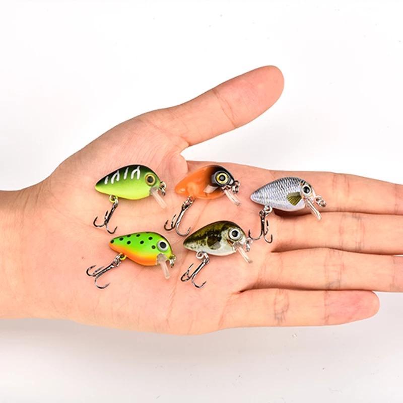 10 قطعة / الوحدة الصيد السحر 1.8 جرام 3 سنتيمتر 5pcs / مربع إجمالي 2 صناديق