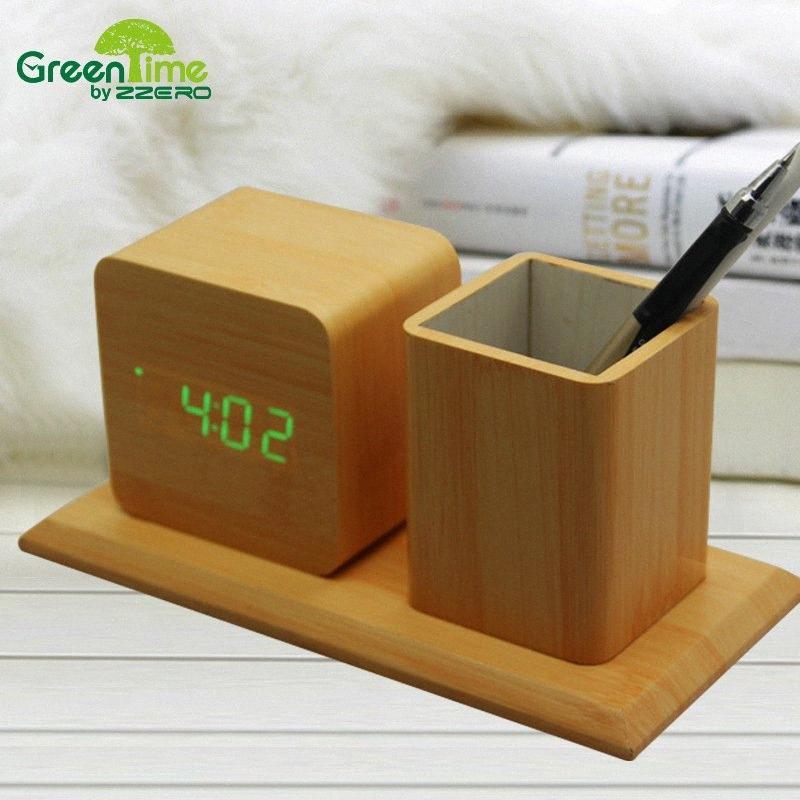 Creative-Container LED Schreibtisch Sound Control Alarm Ursprünglichkeit Container bA9I #