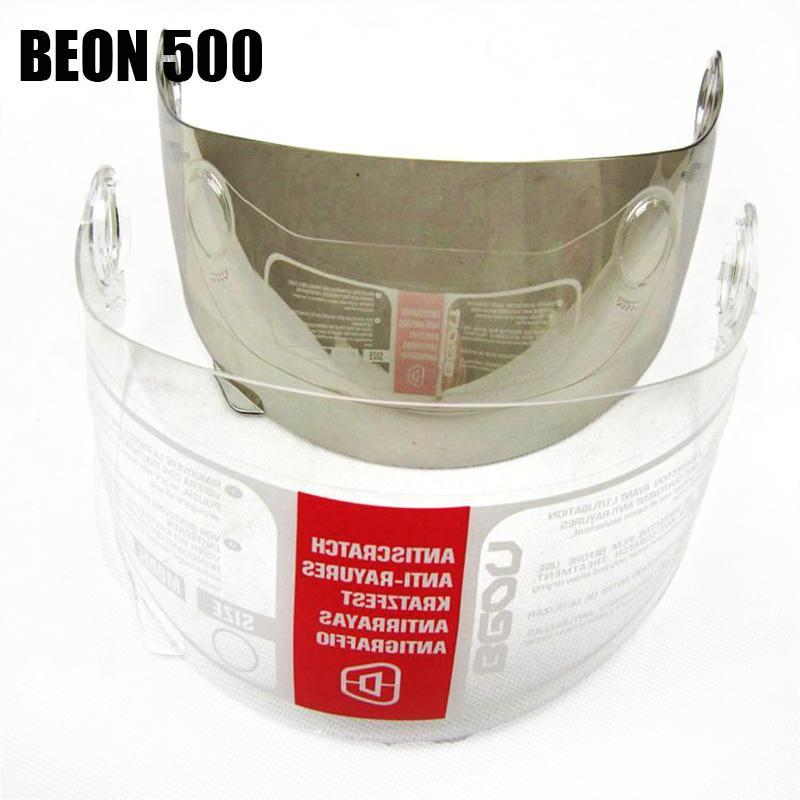 BEON 500 Four Seans Full Face Klassisches Motorrad Go-Kart-Helm ATV Motorrad Kopfbedeckungen casque casco capacete Visier