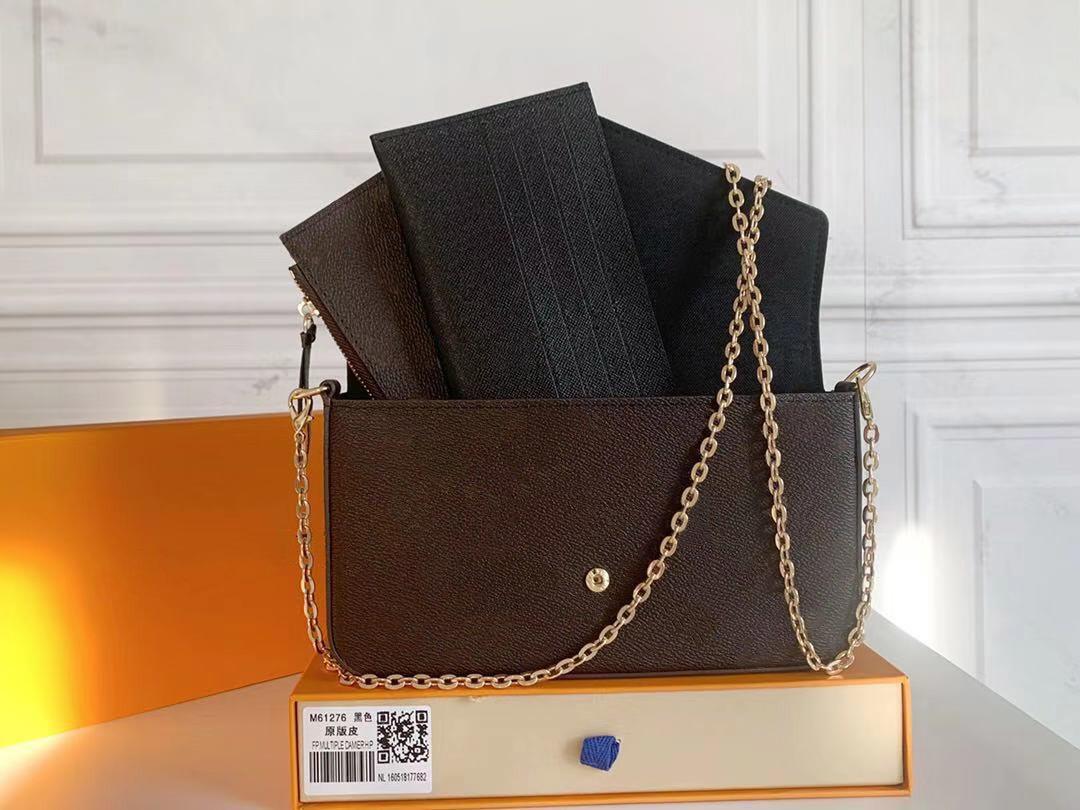 Messenger Bag Portátil M61276 Saco Carteira Ombro Designers 2021 Luxurys Mulheres Sacos AFXJW