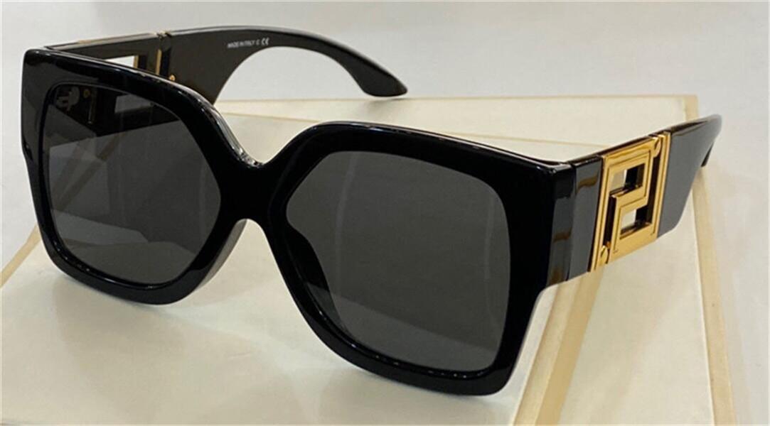 New Fashion Design Design Occhiali da sole 4402 Piatto quadrato Telaio speciale Design Templi Populant Avangarde Style Top Quality UV400 occhiali protettivi