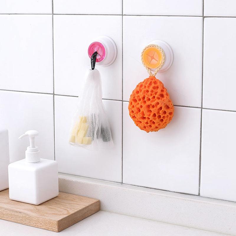 Bathroom Towels Hanging Holder Hooks Organizer Kitchen Scouring Pad Hand Towel Racks Wash Cloth Clip Dish Towels Storage Rack VTKY2324
