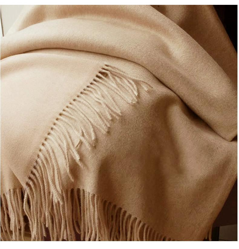 Solidlove 100% Wolle Winterschal Frauen Schals Erwachsene Solide Luxus Herbst Mode Designer Schal Poncho Schals Für Damen Wrap 201104