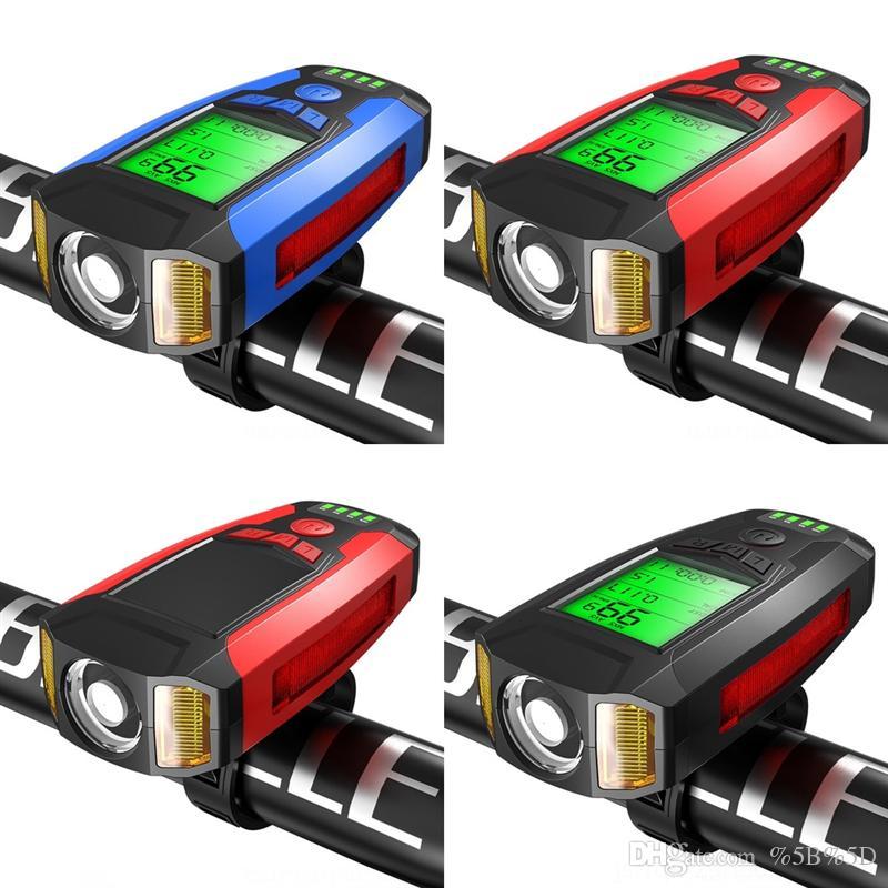 EVS Bisiklet Bisiklet Işık Gidon Sapları Işık Boynuzları LED Tekerlek Bisiklet Işıkları Konuştu Bisiklet Bisiklet Spor Lambası Bisiklet Yardımcısı Uyarı