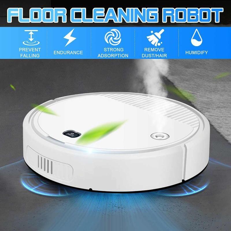 1800PA ROBOT AUTURA CLEABLE 4-IN-1 Auto USB Recargable Robot de barrido inteligente seco Mojado de vacío Smart Floor