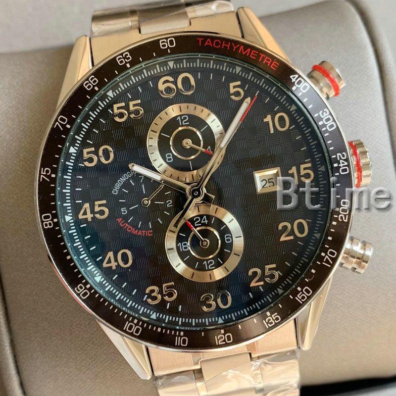Top New Mens Watch 41mm orologi in acciaio inox uomo 2813 meccanico automatico movimento designer orologi da polso 2021 BTTE LUXURY