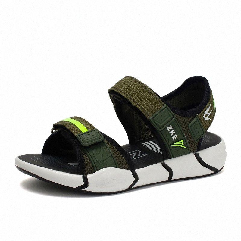 2020 scarpe da spiaggia moda di New bambini sandali per ragazzi estate scarpe morbide scoperta Mini bambino sandasl bambino Y4ji #