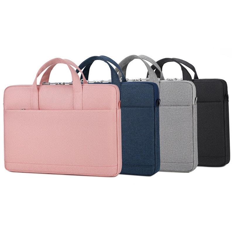 HBP2021 New Laptop Bag 1314 15.6 inch Sleeve Waterproof Shoulder Bags Notebook Cover Carrying Case For Macbook Air Pro hp Women Q0112