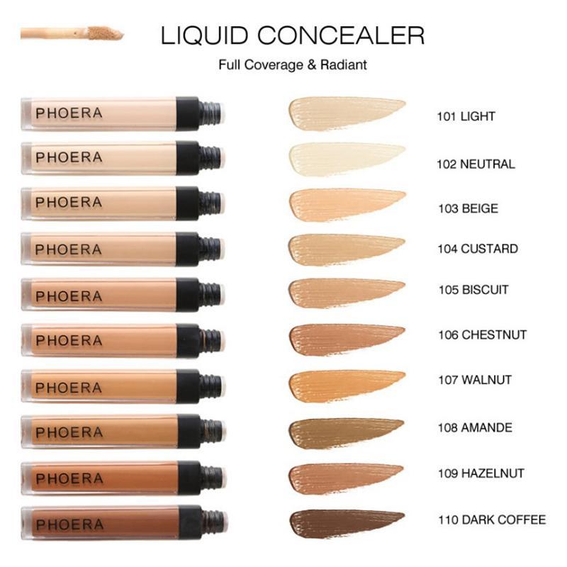2021 PHOERA COCALER COCALER STICK STAR CUBIERTA ACNEA COBERTURA SOBLE COBERTURA COMPLETO FUNDACIÓN Maquillaje cara Ojo Círculos Dark Corrector