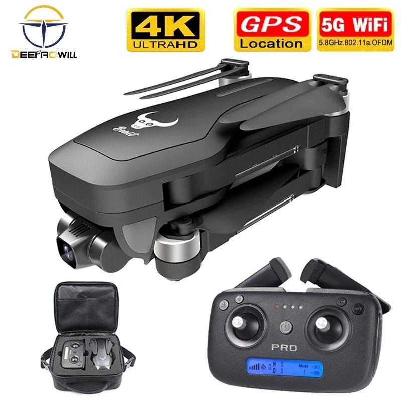 NOVO SG906 pro zangão 4k HD mecânico câmera gimbal 5G WiFi GPS vôo suportes do sistema TF drones cartão distância 1,2 km 25 min 201015