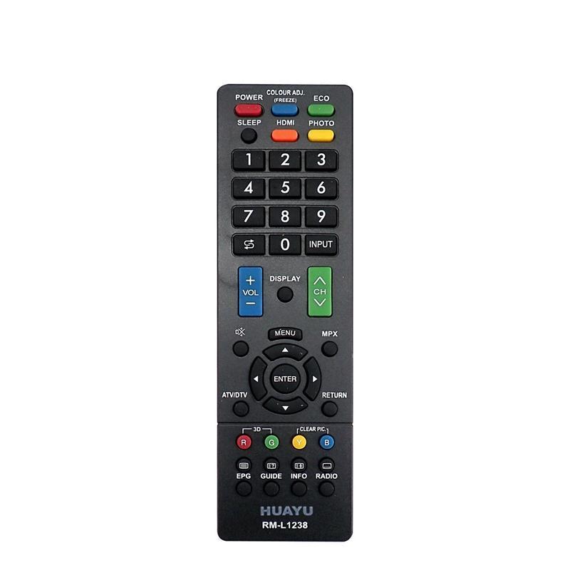 Universal-Fernbedienung für LCD LED TV HD Plasma RM-L1238 Ersatz für SHAP