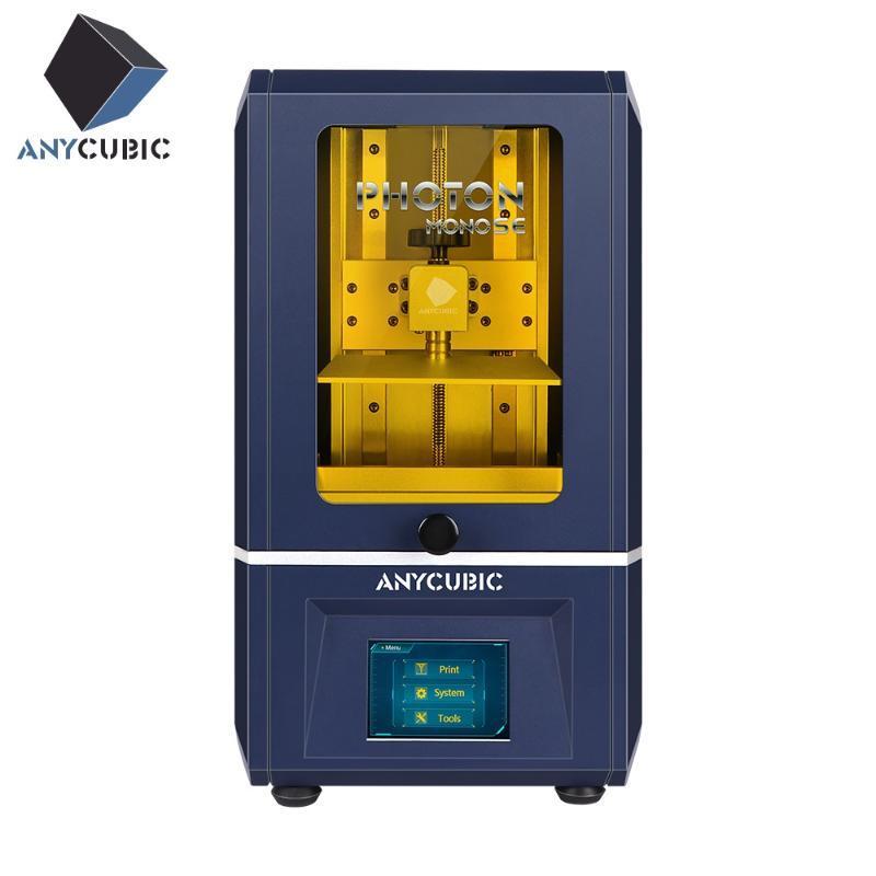 Anycubic Photon Mono SE 3D принтер 2020 новейший приложение дистанционное управление новая матрица параллельный источник света 3D Drucker