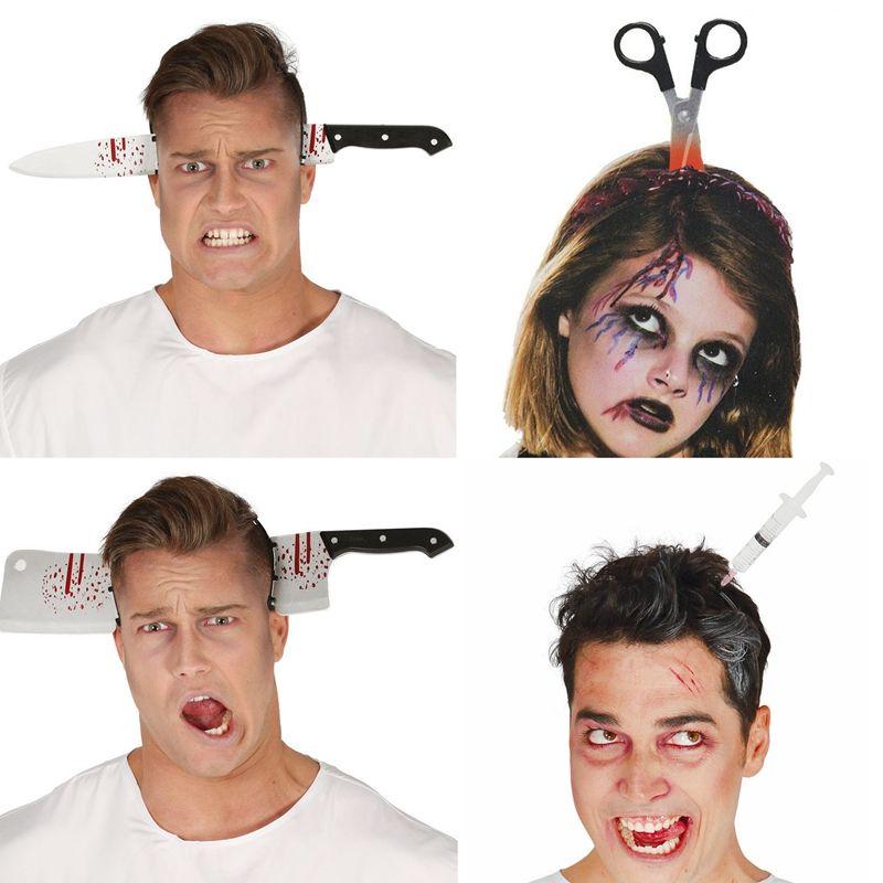Orrore fascia decorazione di Halloween spaventoso coltello Halloween Accessori Puntelli Halloween Party Supplies Evento decorazione del partito