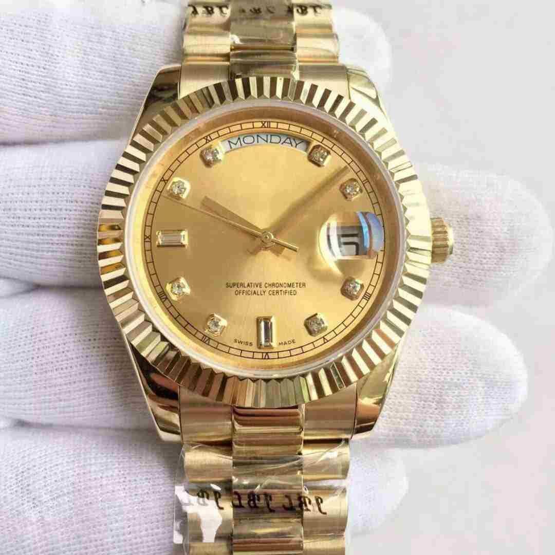 U1 고품질 골드 중립 36mm 남성 여자 시계 사파이어 스테인레스 스틸 팔찌 기계 자동 스윕 시계 패션 숙녀 드레스 다이아몬드 손목 시계