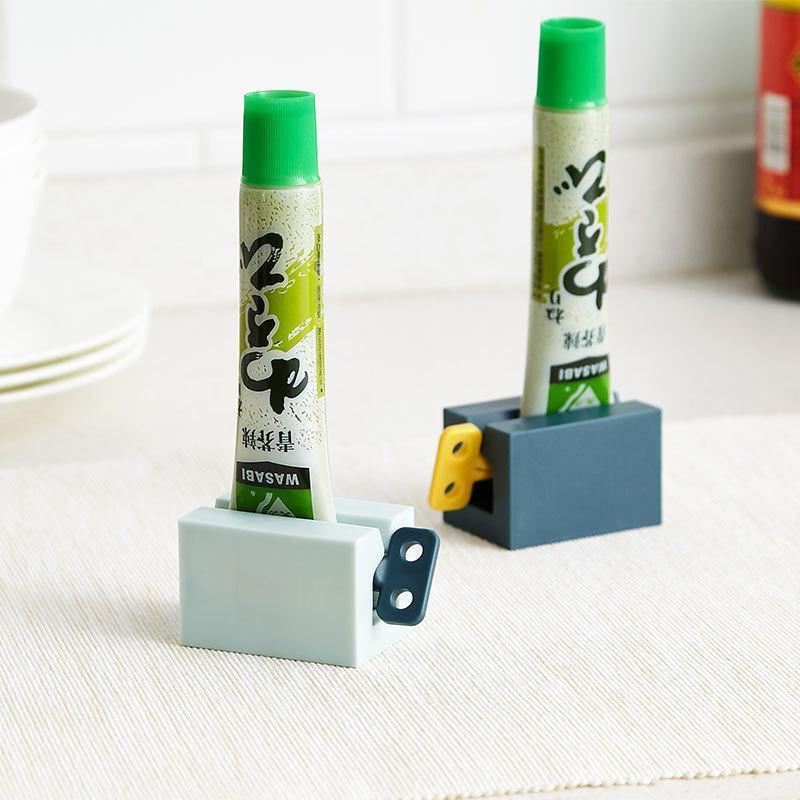 Banho tubo de dentífrico espremedor de rolamento Squeezer Toothpaste Dispenser Pasta de dente Titular decoração do banheiro Acessórios Sets