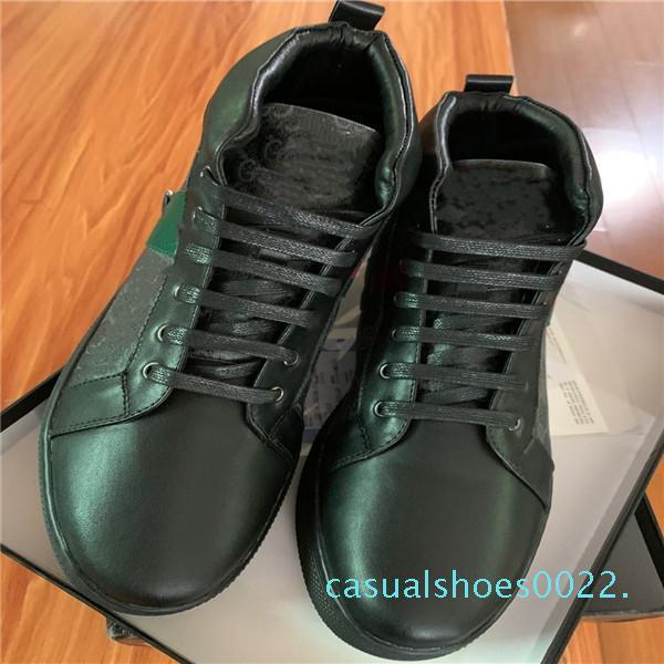Sıcak Sat 2019Mens Tasarımcılar Ayakkabı luxurys Bayan Düşük Kesim G Çiçek Sneaker Erkekler Kadınlar ACE Casual Shoes5 C22 yazdır