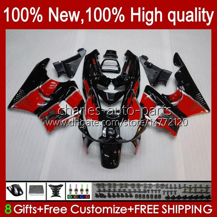 Körper rot schwarz neu für Honda CBR919 CBR900 RR CBR900RR CBR 919RR 900RR 919CC 93HC.11 CBR919RR 98 99 CBR 900 919 CC RR 1998 1999 Verkleidungs