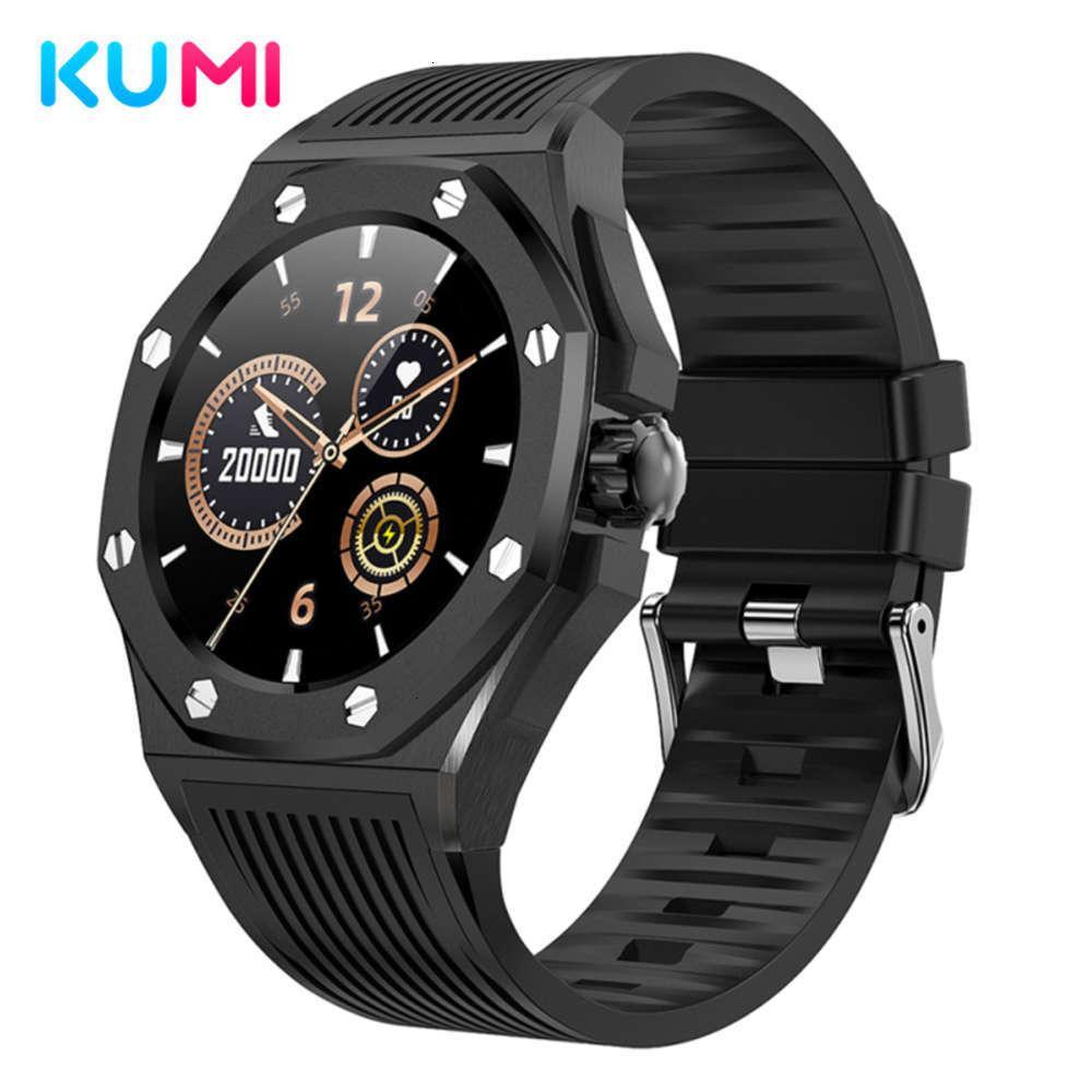Kumi Library GW20 Busines de lujo Smart Outdoor Sports Watch Reloj de Oxígeno y PRSURE SANGRE MONITORINGJK