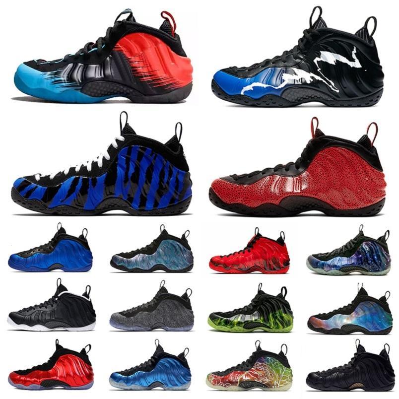 С коробкой смешанного цвета пенни мужские баскетбольные ботинки Abalone Doernbeher Ben Gordon Paranorman Camo Blankblant пена один мужские спортивные кроссовки 40-47
