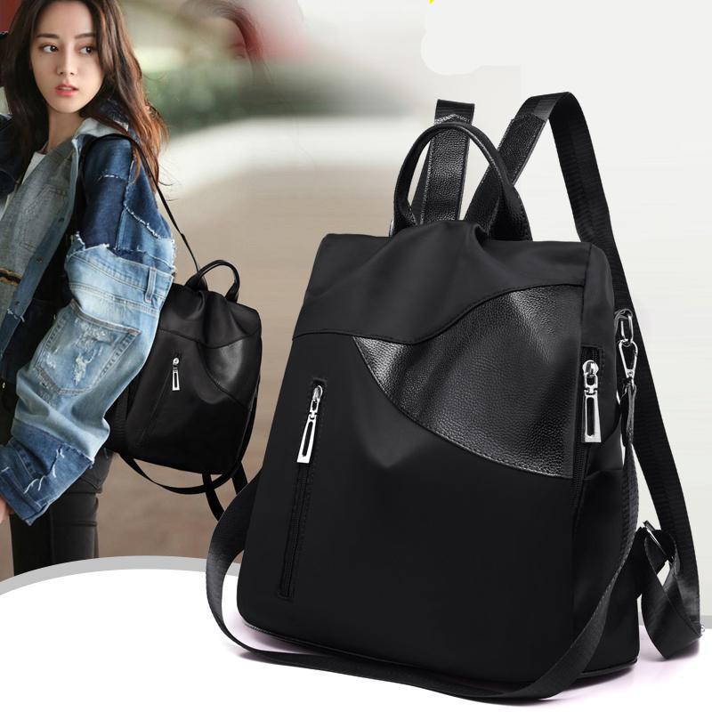 Mädchen Rucksack College Neue Bagpack Harajuku Weibliche Schulter für Schul Trend Mode 2021 Reise Teenager Bags Rucksack Frauen HKOOJ