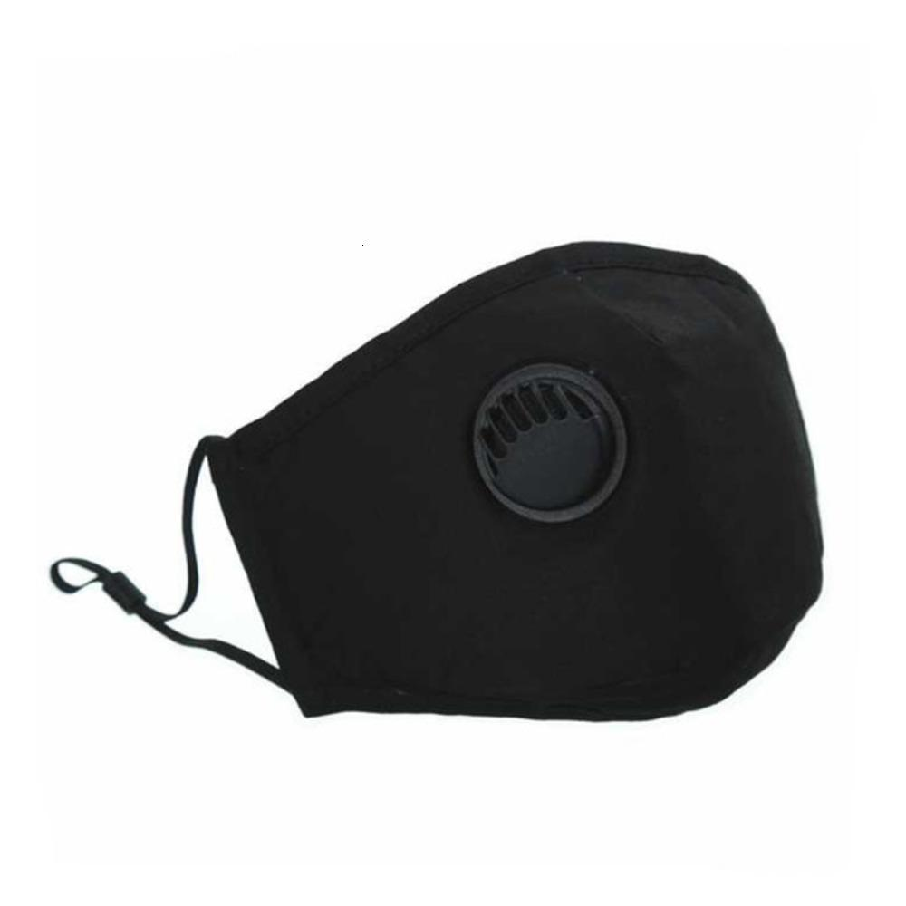 PM2.5 Маски многоразовые маски с дыханием с унисексным клапаном хлопчатобумажные ротовые маски для лица анти-пыль Флитером маска Flier моющийся падение R11