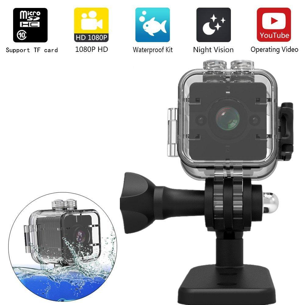 Waterproof Mini Camera HD 1080P SQ12 Camcorders Diving Outdoor infrared sports Recorder Camera SQ 12 Night Vision Small Video Cameras Cam