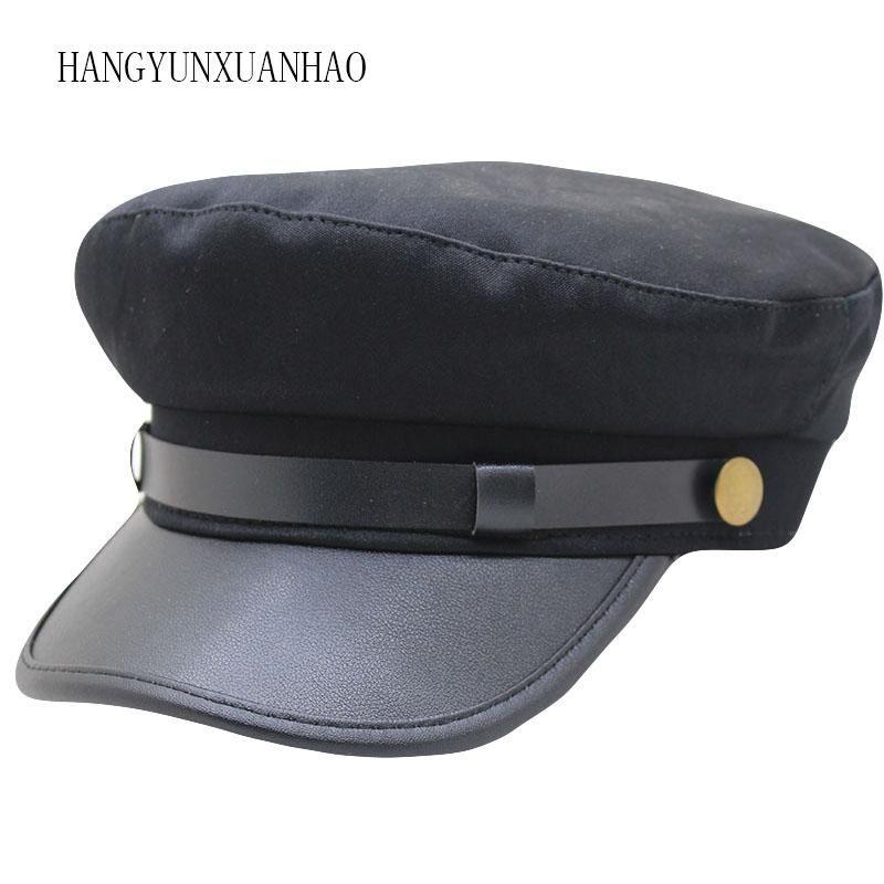 Марка Тактические Зимние шапки для мужчин женщин Ladies Шляпы Pu кожаный мужской армии Visor Caps Casquette Bone SNAPBACK Gorras
