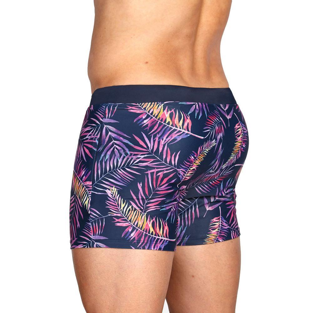 UXH Brand Men's Swimming trunks Zipper Sexy High Quality beach short Swimwear men Swimsuit Man Surfing Male Swim Suit Underpants