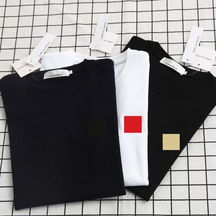 2020 Nuevo Summer Fashion Designer T Shirts para hombres Tops Luego Lleve Bordado T Shirt Hombres Mujeres Ropa Tshirt de manga corta Camisetas