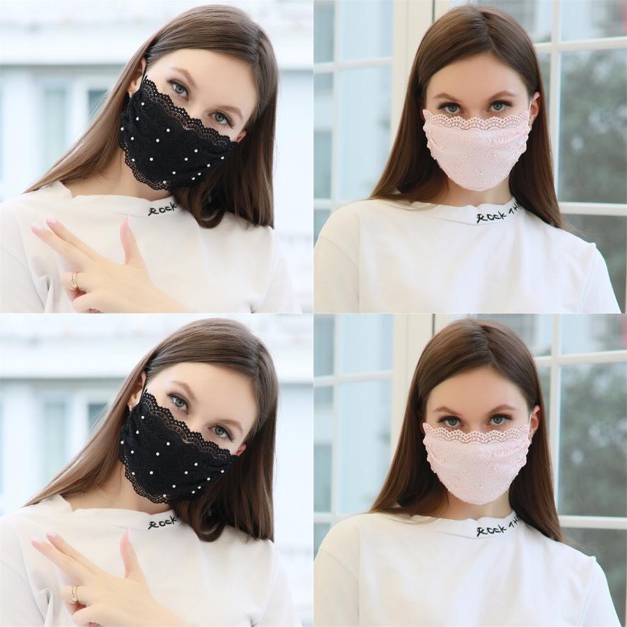 Цветочных печати Губка Маска 1Pc Unisex черный Губка Mouth маска дышащая маску для лица Новых Женщин MenPollution Face Shield # 750