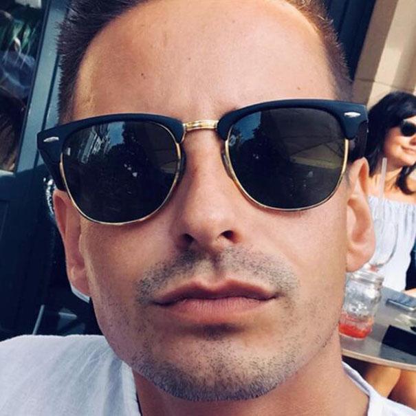 Klassischer Club-Sonnenbrillen für Unisex-New Designer-Sonnenbrillen Meistermarke Gafas de Sol Männer Frauen Spiegel Eyewear 3W23 mit Fällen