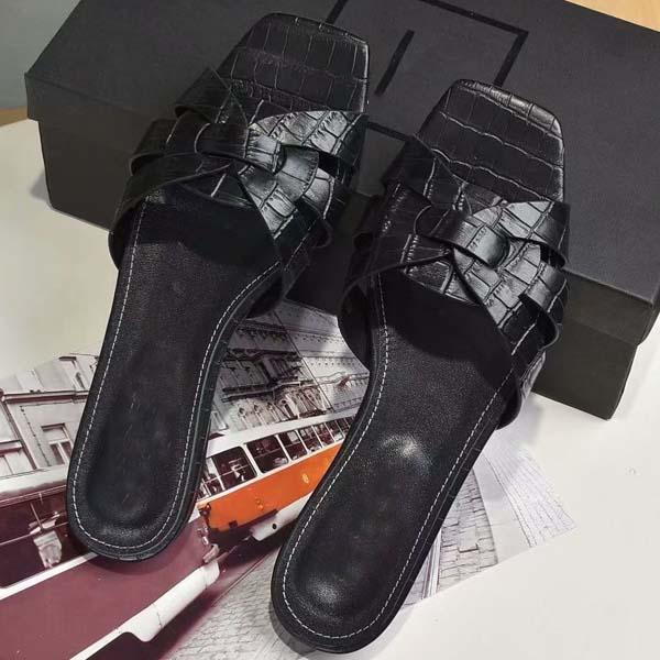 2021-nuovo del progettista di lusso Slipper Donna Sandali di alta qualità eccellente di modo casuale classico Slipper Sandy Infradito Taglia 34-42 con la scatola