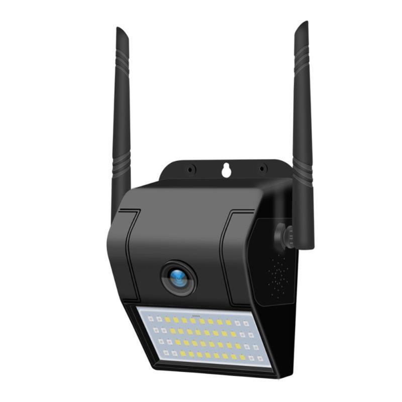 Cámaras Cámara solar WiFi IP 1080P HD Outdoor Wireless Security PIR Movimiento Detección Vigilancia CCTV