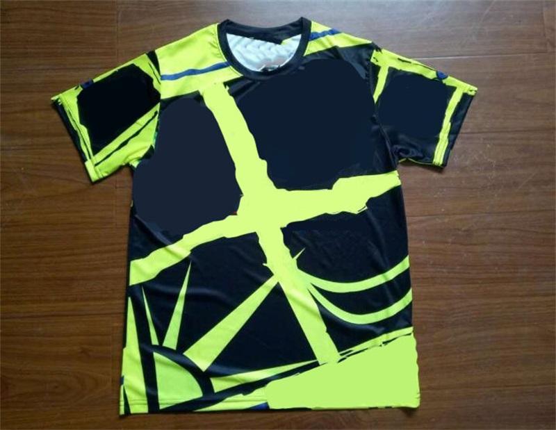 Nuova T-shirt da motocross a maniche corte a maniche corte in bicicletta camicia da ciclismo da corsa vestito da moto camicia a goccia