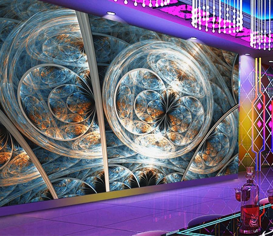 Individuelle 2020 Tapeten Wohnkultur Wohnzimmer Schlafzimmer 3d Tapetenrollen für Wände Bar KTV Hintergrund Wand neuer Stil