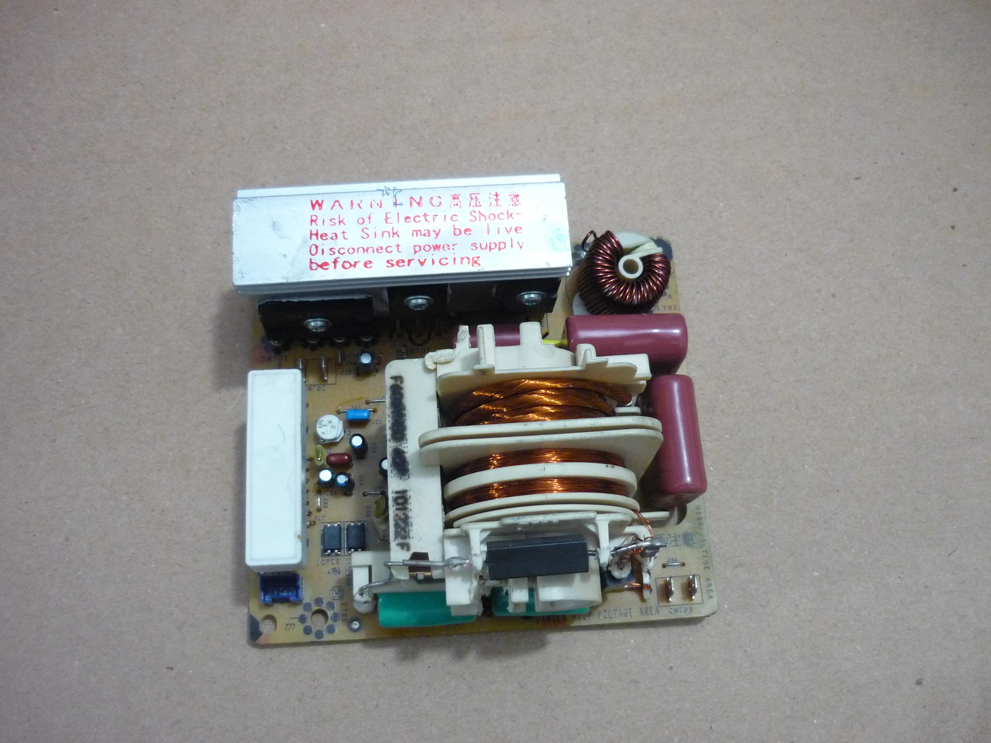 Original Panasonic microwave inverter board for F6645M300GP F6645M301GP F6645M303GP305 302BP Microwave oven parts