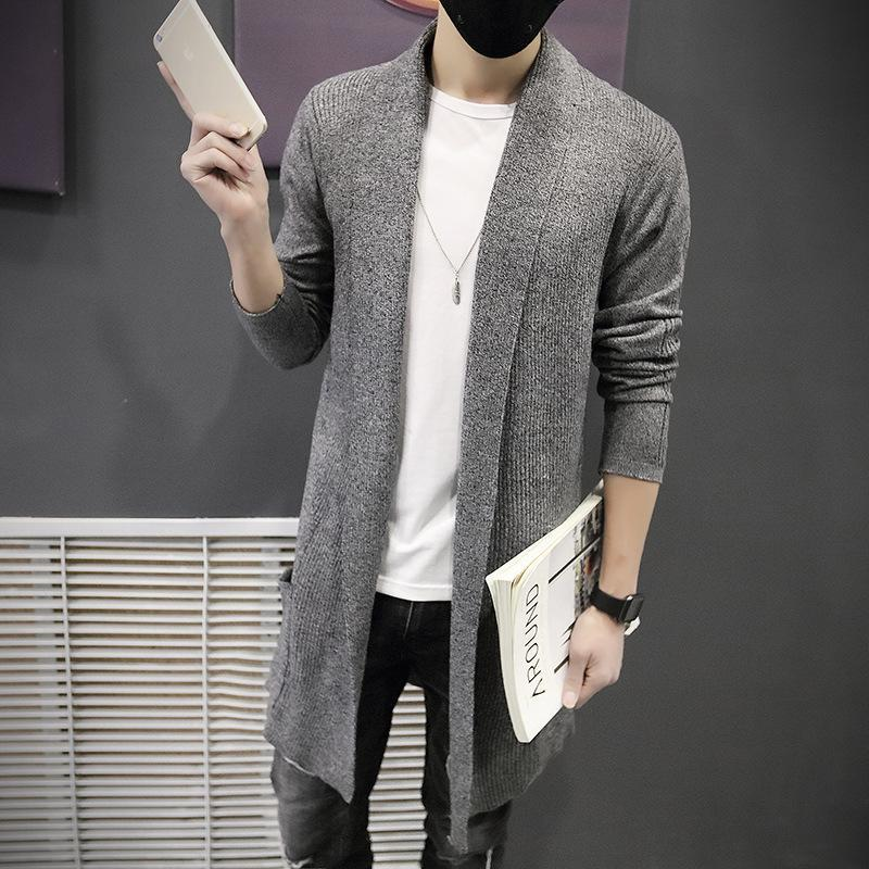 2020 erkek yeni örme hırka erkek kazak rahat ve konforlu moda ceket Kore versiyonu erkekler ceket