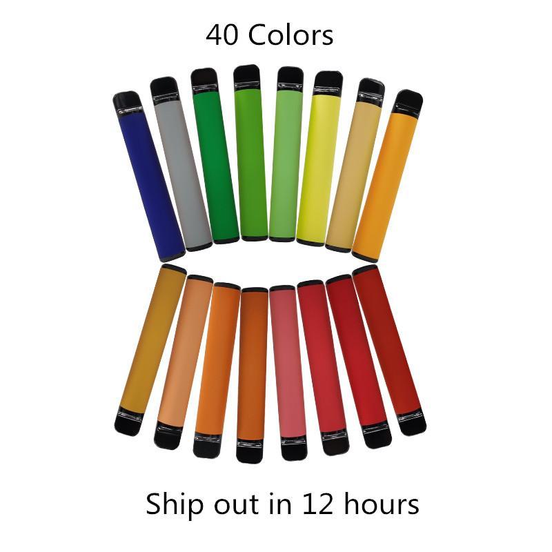 일회용 장치 포드 550mAh 배터리 3.2ml 펜 vape 카트리지 포장 빈 전자 담배 사용자 정의