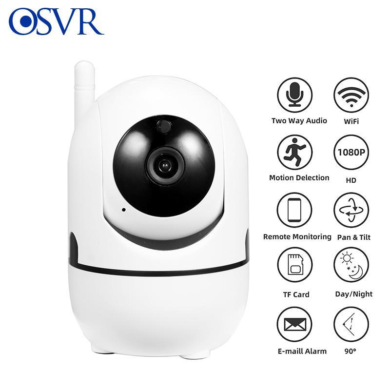 1080 P IP Kamera Wifi Mini Ağ Video Gözetim Oto Izleme Kablosuz Kamera IR Gece Görüş Güvenlik Kamera LJ201209