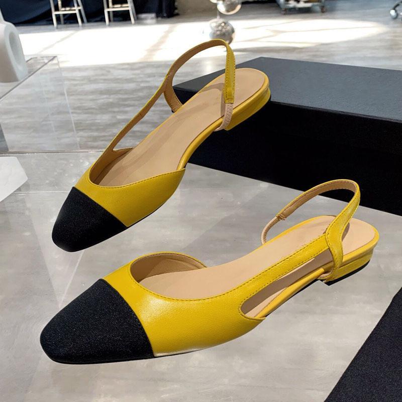 Sandales d'été Femmes Sandales Simple Mode Sandales Fairy Baotou Confortable Toe Open Toe Roman Dentelle Femmes Sandales Appartement Designer