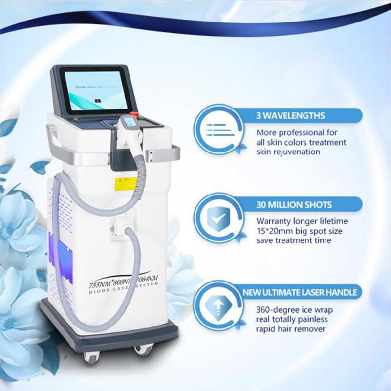 lasers de diodo para a máquina de depilação a 808 diodo depilação permanente 808nm de laser equipamento de depilação beleza para vendas quentes