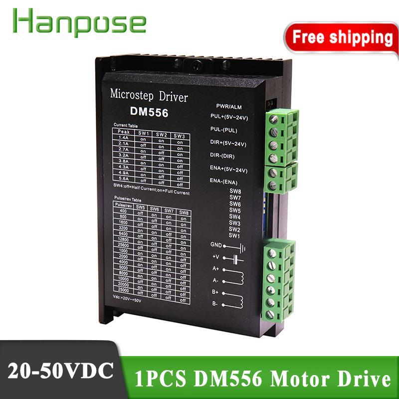NEMA 23 CNC hybrid servo motor DM556 20-50VDC 2-phase Digital 57/86 4.2A Stepper Motor Drivers Controller for 3D printer